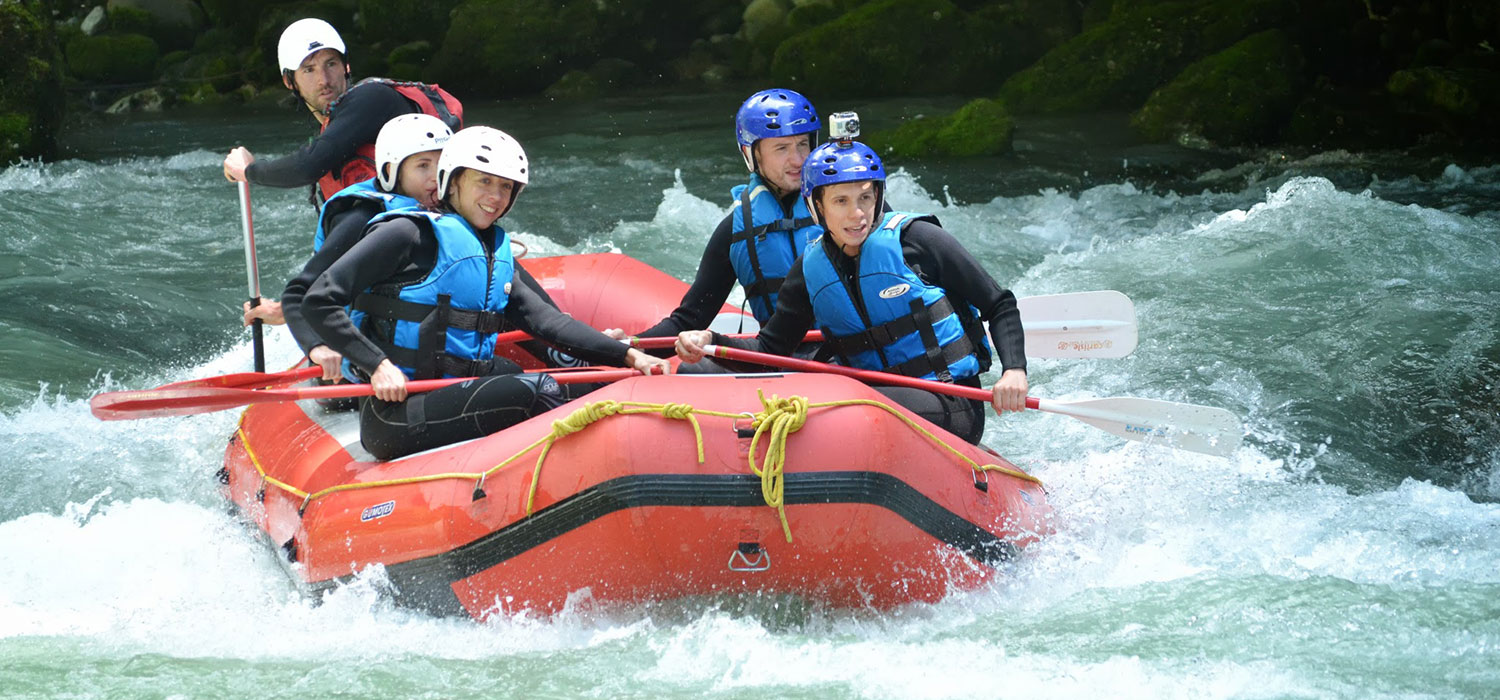 Summer Activity Holidays, White Water Rafting in Morzine – More Mountain