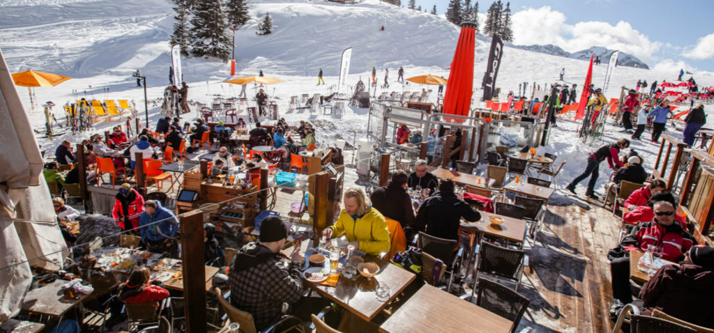 restaurants for skiers and non-skiers