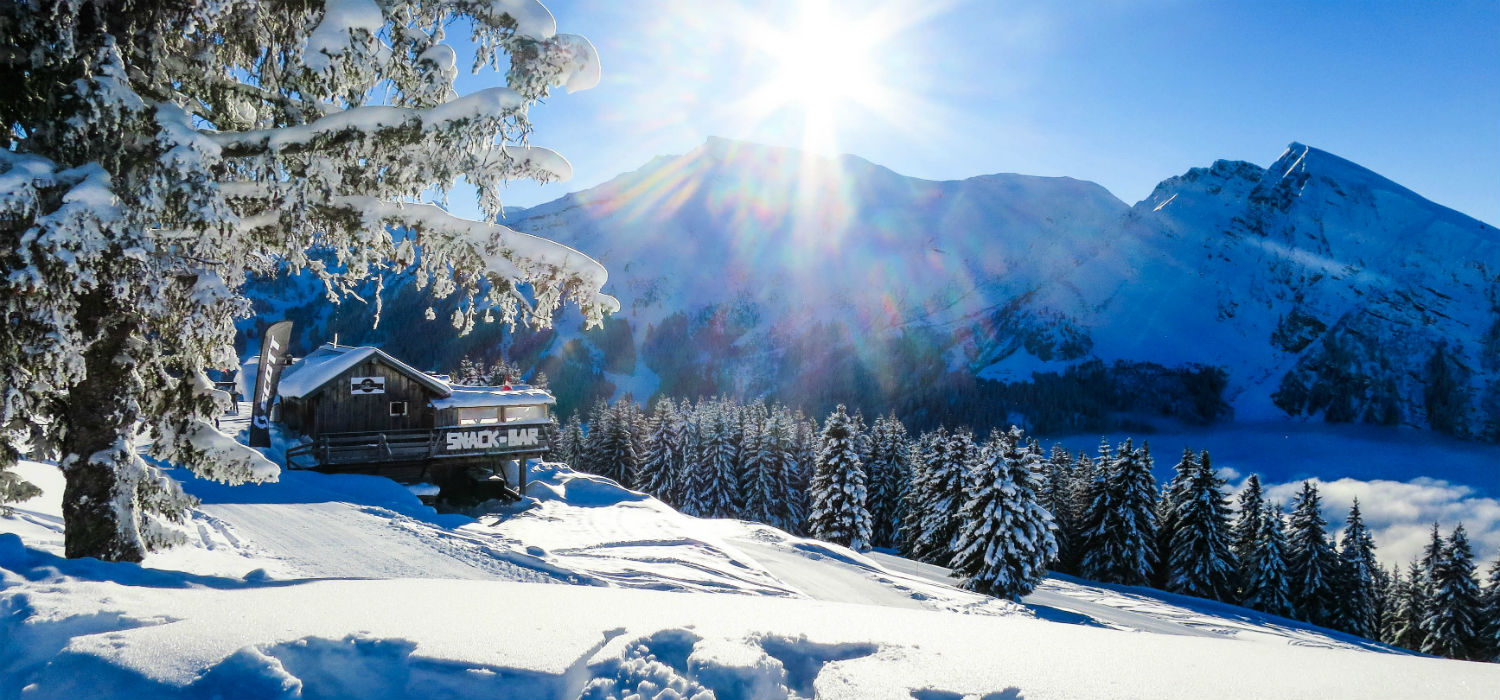 Super Morzine Sunshine in Avoriaz