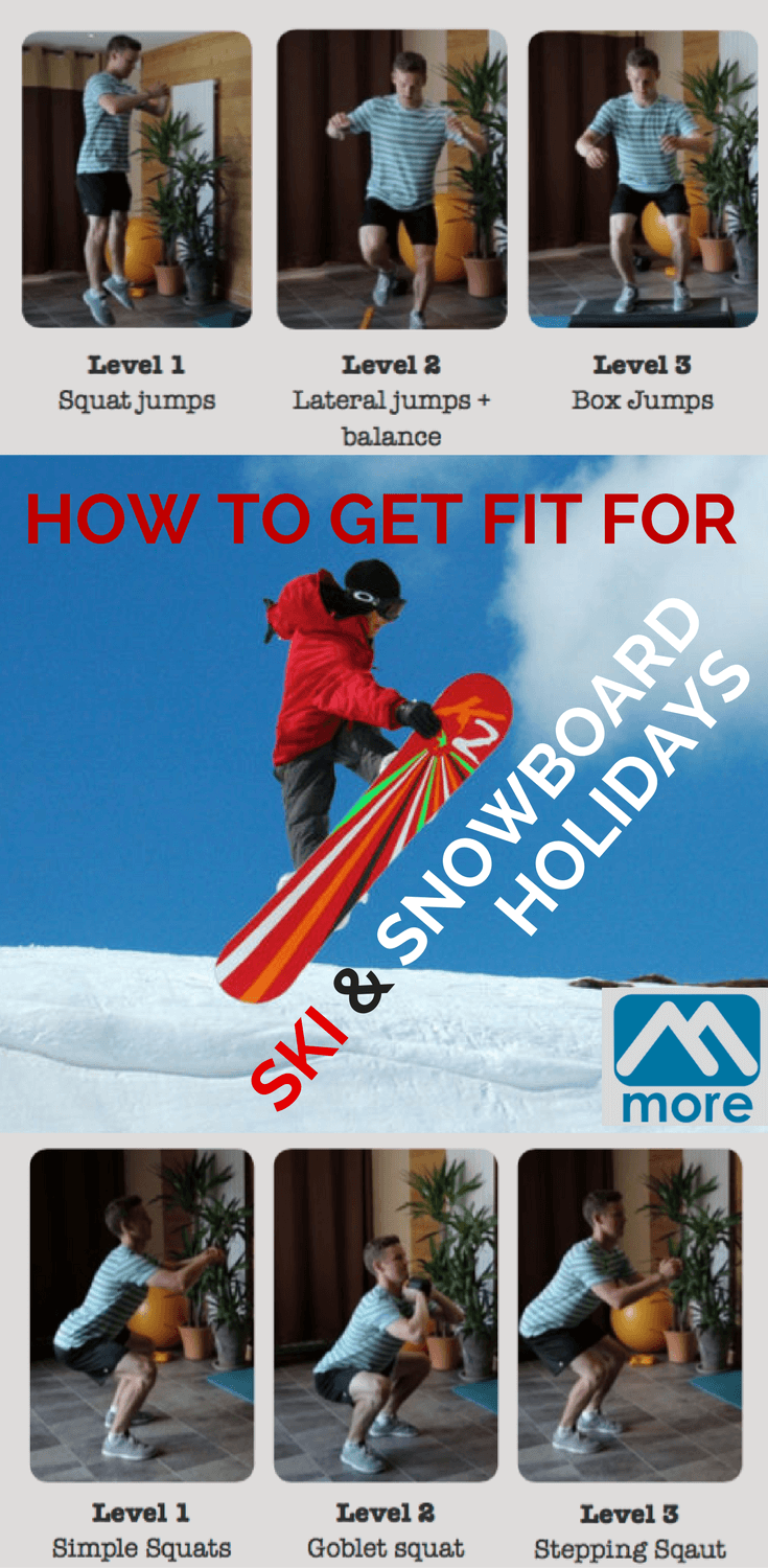 If you've left getting fit for your ski or snowboard holiday to last minute then it's time to get stuck in. Here's a guide to how to do it, and fast.