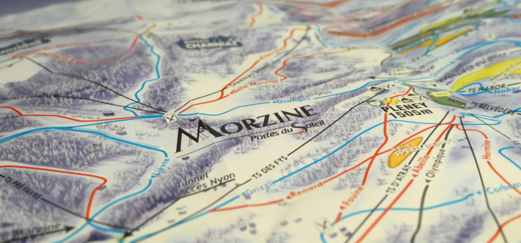 Best Blue Runs in Morzine and Avoriaz More Mountain