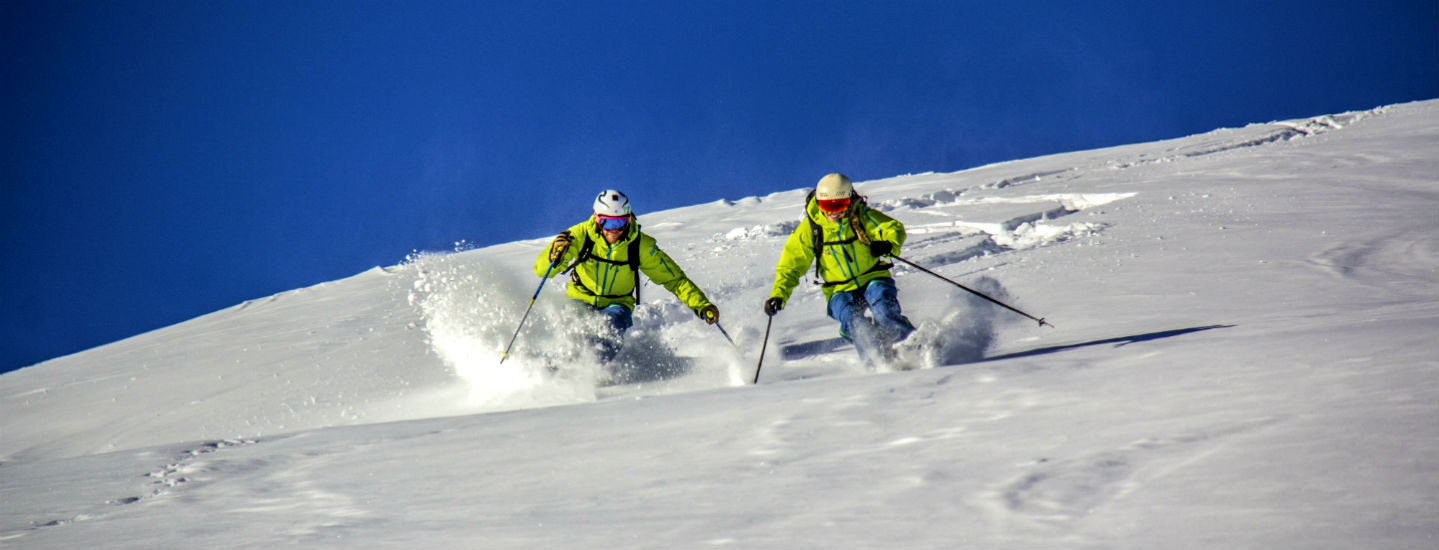 The joys of off-piste skiing and snowboarding - Avoriaz Alpine Ski School