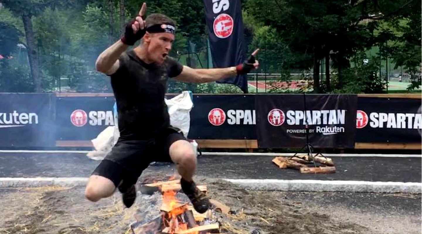 Spartan race morzine finish line