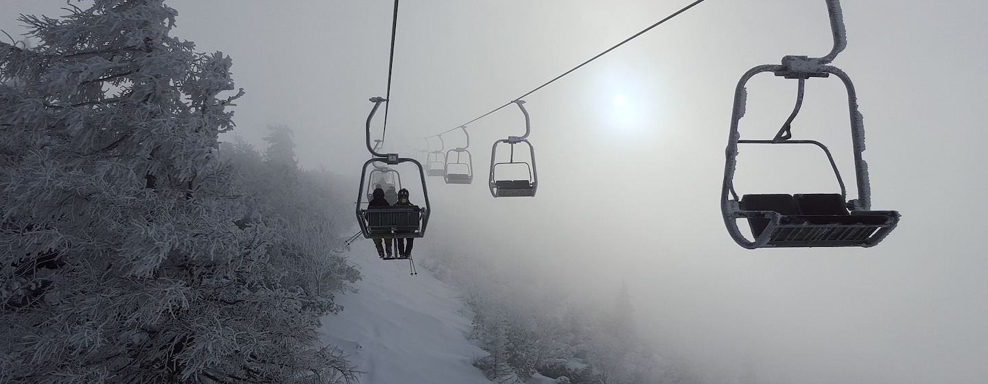 Why is it safe to ski this winter - Chairlifts